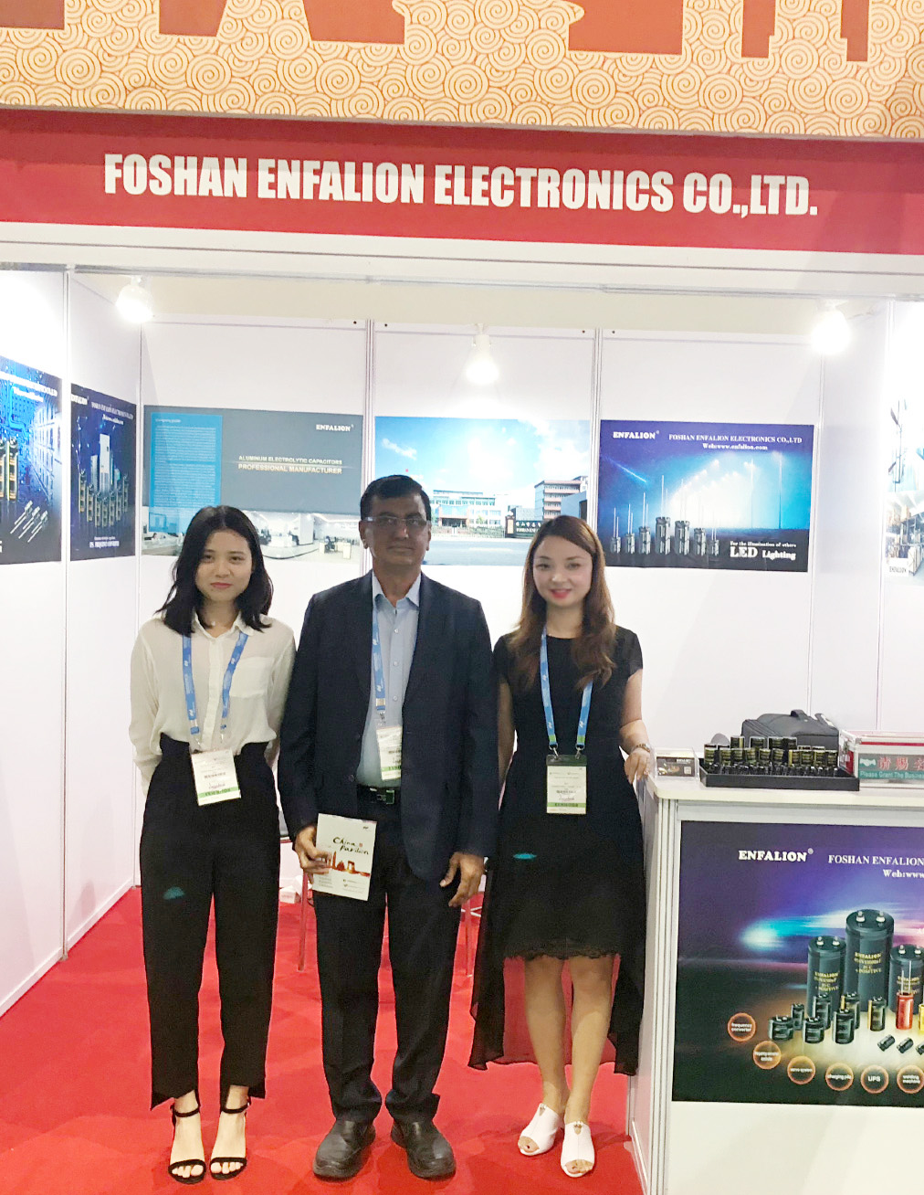 ENFALION TAKE PART IN ELECTRONICA INDIA FAIR IN SEP,2017